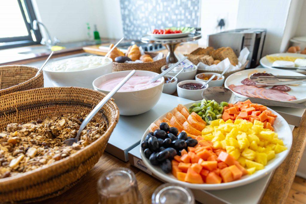 Antrim Villa breakfast