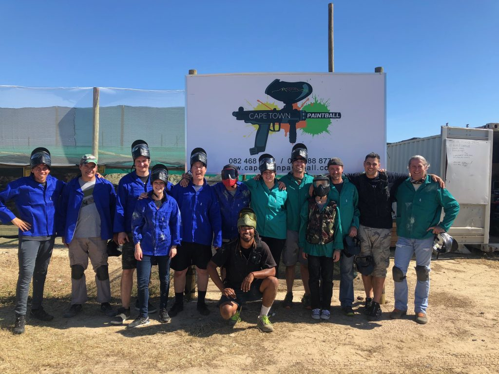 Cape Town Paintball team