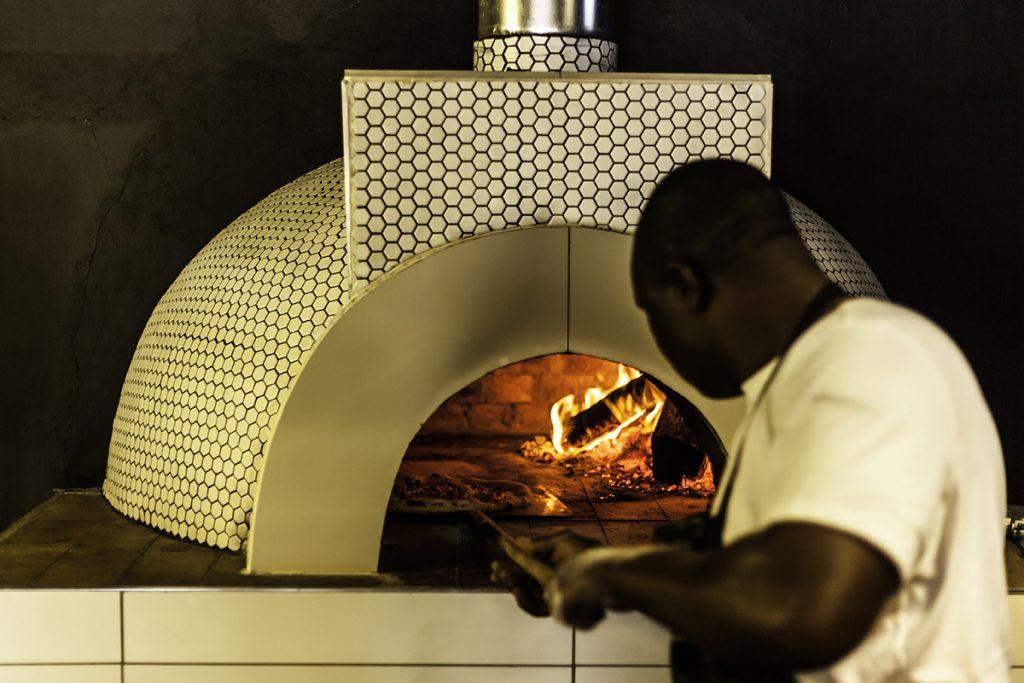 Nolio Italian Bistro pizza oven