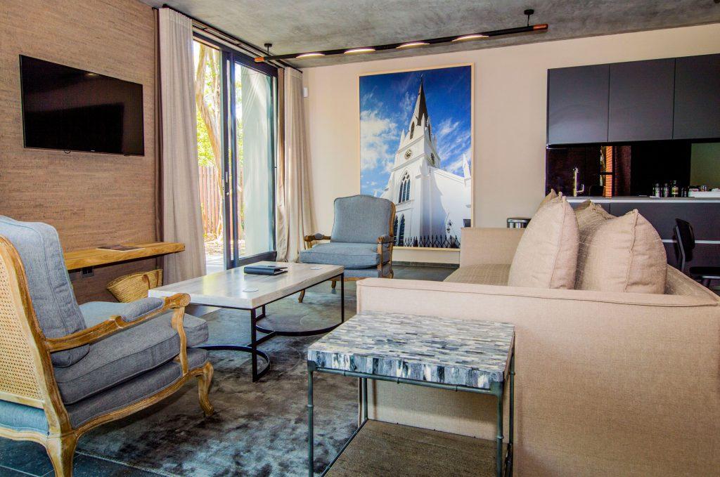 De Haas Luxury Living accommodation Stellenbosch