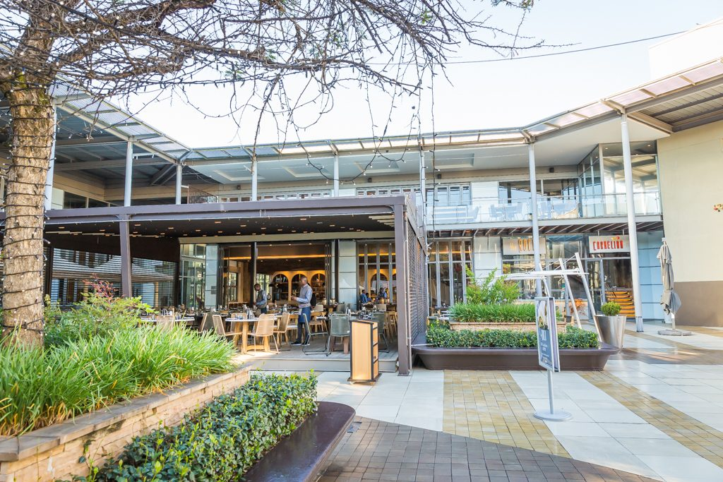 the ROCK Design Quarter restaurant Sandton Johannesburg