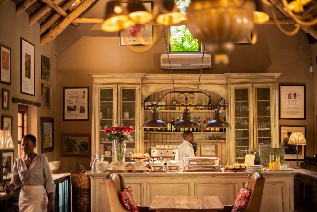 Bistro BonBon restaurant Franschhoek