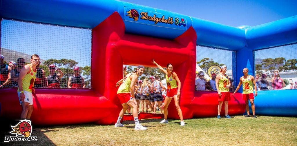 Dodgeball SA entertainment