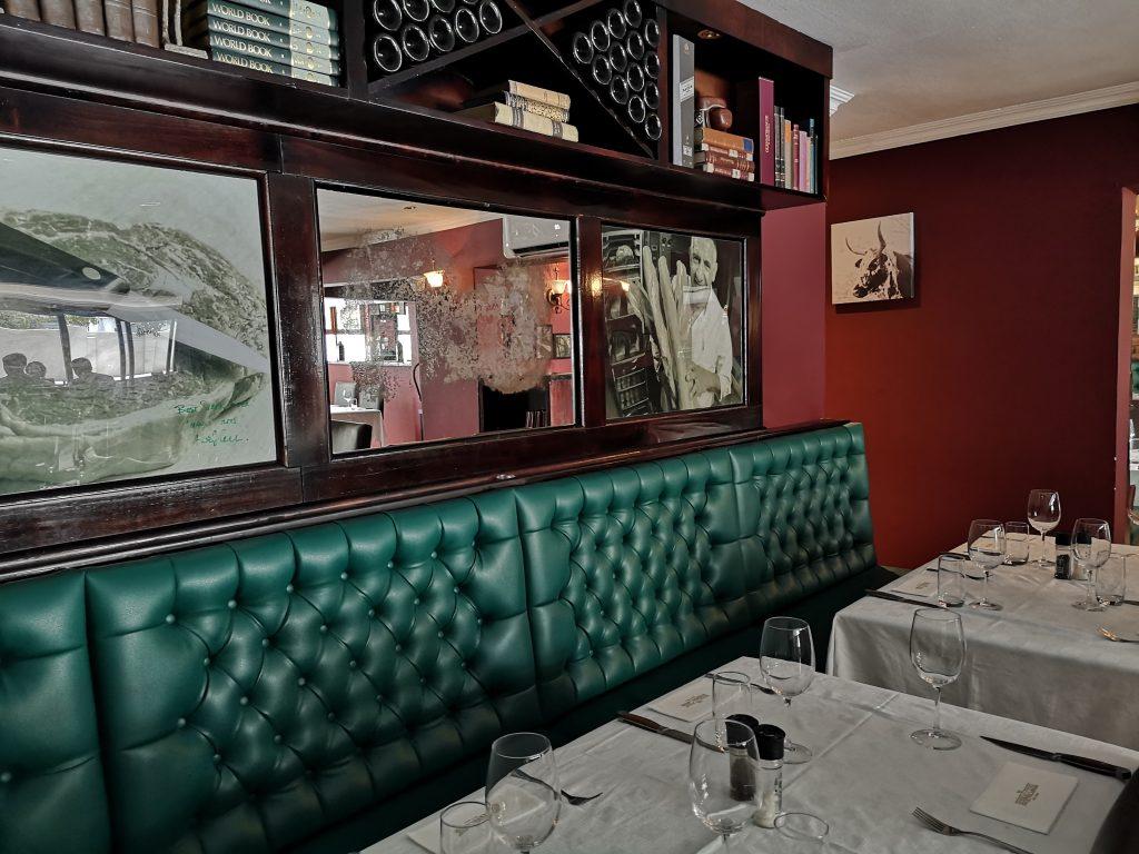 Hussar Grill, Port Elizabeth, restaurant, Eastern Cape, chef special