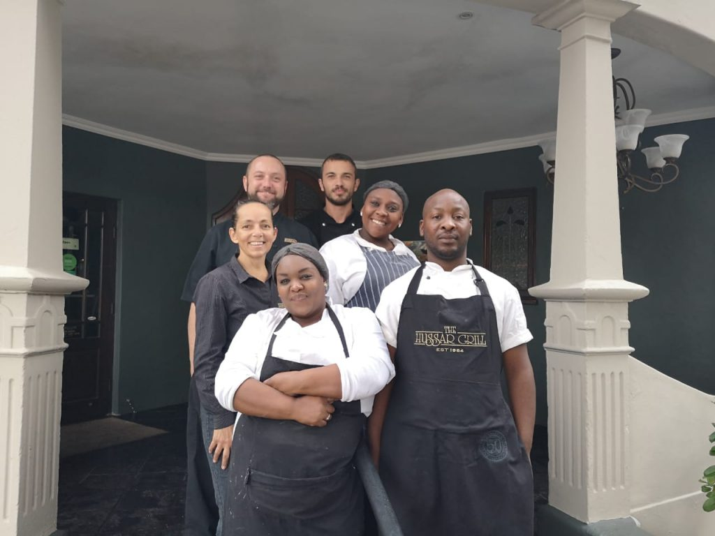 Hussar Grill restaurant Port Elizabeth