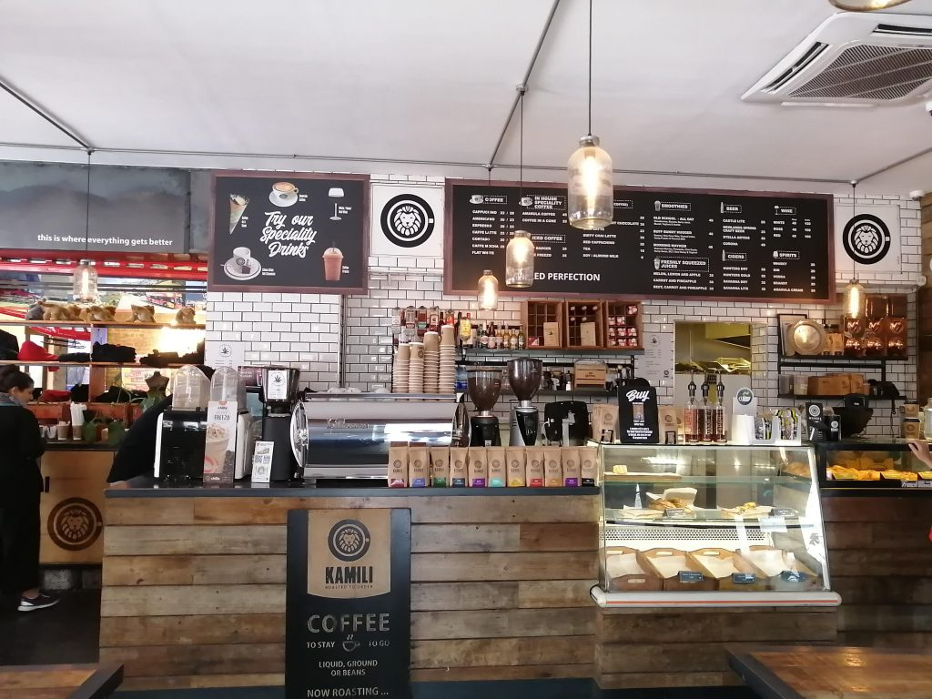 Kamili Coffee Shop – Cape Town – Western Cape