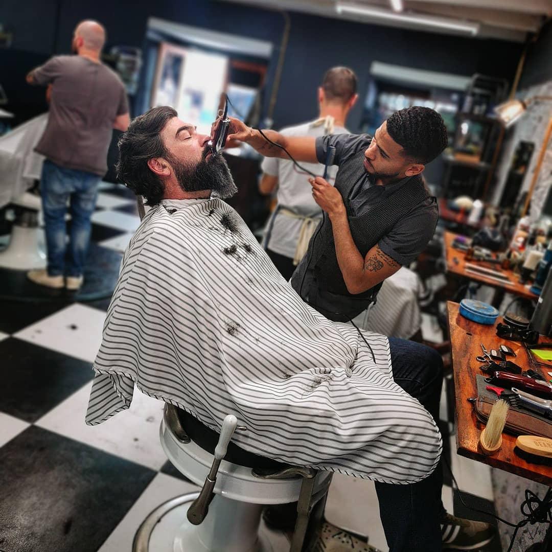 Barnet Fair barber shop