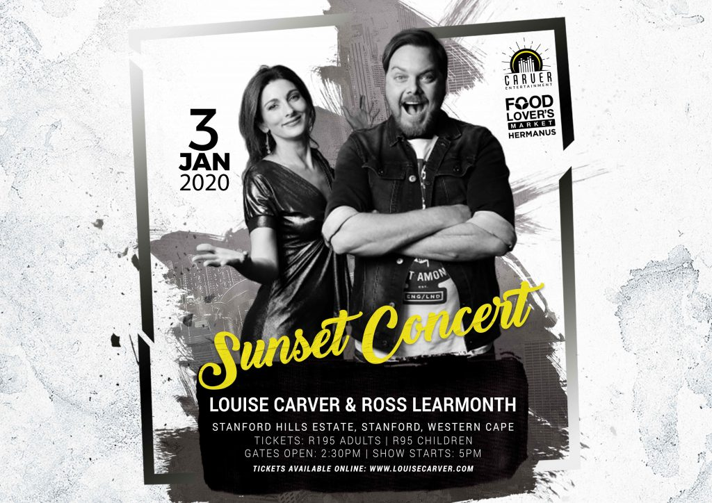Louise Carver and Ross Learmonth