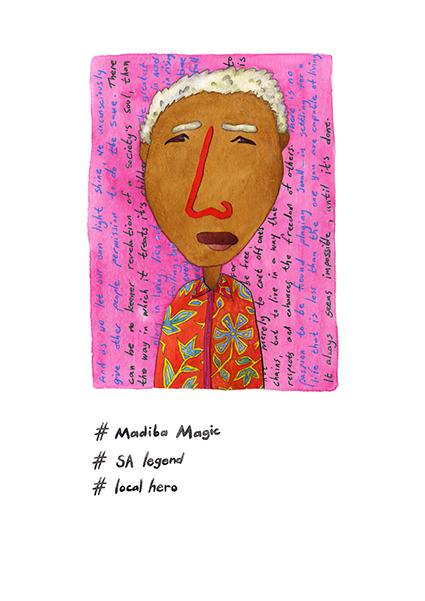 wall art madiba