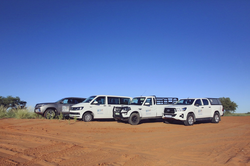 Oryx 4x4 Car Hire